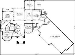 reverse ranch house plans european house plan 4 bedrooms 4 bath 4540 sq ft plan 7 1128