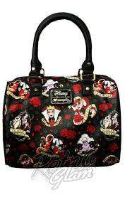 loungefly disney villain roses tattoo faux leather handbag u2013 retro