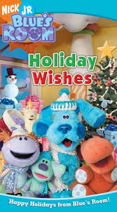 amazon blues clues blue u0027s room holiday wishes vhs
