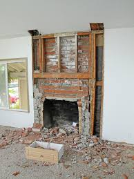 remodel brick fireplace before and after fireplace designs