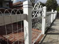 loop ornamental wire fencing custom sized handmade gates home