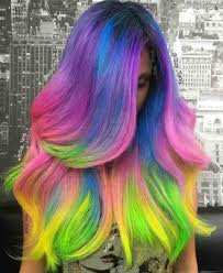 weave hairstyles with purple tips i m feeling like a unicorn steps to achieving the unicorn hair color