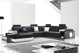 Corner Leather Sofa 19 Black And White Sofa Black And White Leather Sofa Set For A
