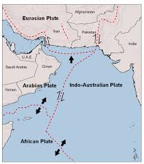 Map Of Tectonic Plates Indian Ocean Earthquake And Tsunami Hazard Potential Greater Than