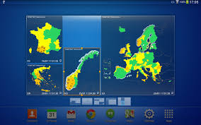 European Weather Map by European Weather Warnings Android Apps On Google Play