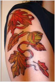 leaf tattoo designs pictures to pin on pinterest tattooskid