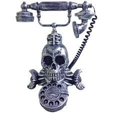 animated halloween lights home accents holiday 11 in victorian phone with light and sound