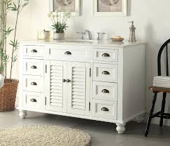 Inch Bathroom Vanity  Artasgiftcom - Antique white bathroom linen cabinets