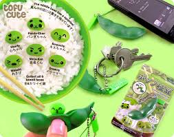 peas in a pod keychain buy endless edamame popping soybean pod keychain at tofu