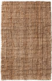 Latex Backed Rugs Jute Boucle Natural Gold