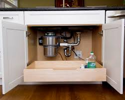 Under Sink Drawer Houzz - Kitchen sink drawer