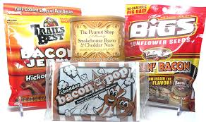 bacon sunflower seeds bacon snack pack sler 4pc set bacon cheddar peanuts