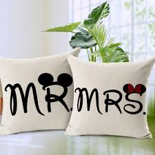 Mr And Mrs Home Decor by Online Get Cheap Mickey Throw Aliexpress Com Alibaba Group