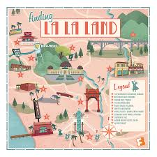 Louisiana Highway Map Mapped See The L A Locations Where U0027la La Land U0027 Was Filmed