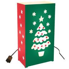 tree electric luminaria kit set of 10 free shipping