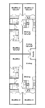 duplex floor plans for narrow lots narrow duplex plans search projects to try
