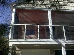 Metal Awnings For Home Windows Houstonian Metal Standing Seam Awning 24 In H X 36 In D In Black