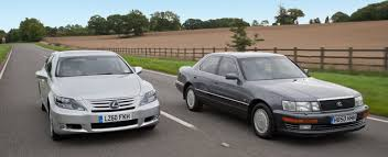 lexus ls400 1990 comparison 1990 lexus ls 400 vs 2010 lexus ls 600hl lexus