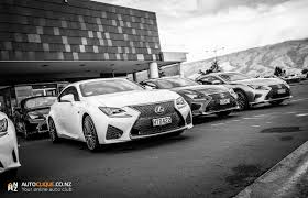 lexus rcf white 2015 lexus rc u0026 rc f nz launch queenstown u0026 highlands park