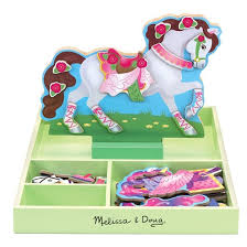 wooden horse stable toy target