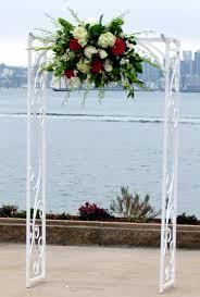 wedding arches san diego wedding arch flower arrangement products local florist in san
