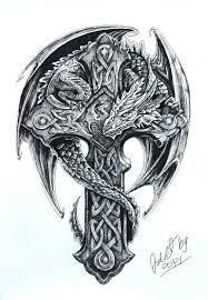 the 25 best celtic dragon tattoos ideas on pinterest dragon