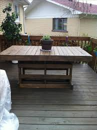 best 25 pallet table outdoor ideas on pinterest diy pallet