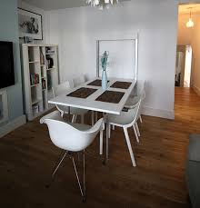 The Stylish Wall Mounted Dining Table For A Bunch Of Benefits - Wall mounted dining table designs