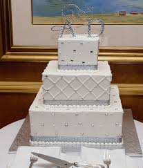 inspiring and unique square wedding cakes wedding styles