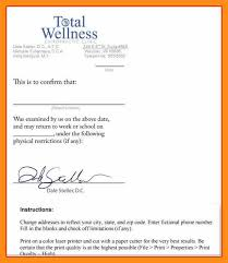 free fake doctors note template memo example