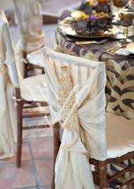 chair sashes chic ivory wedding chair sash decoration by wildflower linen