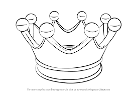 for kids learn how to draw a crown for kids everyday objects step by step