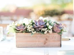 Wooden Centerpiece Boxes by Best 25 Succulent Centerpieces Ideas On Pinterest Outdoor Table