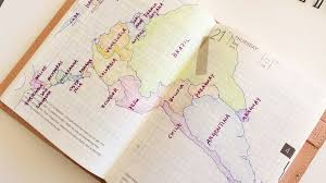 Map Of Uruguay Hobonichi Planner U2013 Pencils And Other Things