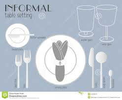 Formal Dinner Place Setting Table Setting Images Zamp Co
