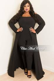 plus jumpsuit plus size the shoulder jumpsuit with attached skirt