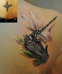 55 very attractive dragonfly tattoos designs and ideas collection