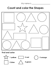 coloring pages counting shapes colouring pages coloring shapes