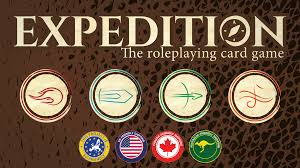 expedition the roleplaying card game by todd medema u2014 kickstarter