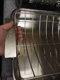 Pyrex In Toaster Oven Best Roasting Pan Cookware Roasting Pans Chowhound