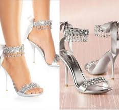 wedding shoes canada new fashion high heels silver rhinestone shoes wedding shoes