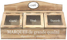 wooden french country kitchen canisters u0026 jars ebay