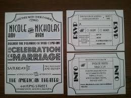 Playbill Wedding Programs 7 Best Wedding Images On Pinterest Marriage Broadway Theme And