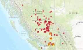 Bc Wildfire Live Map by Coquihalla Warrior Theofaber Twitter