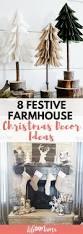 8 festive farmhouse christmas decor ideas