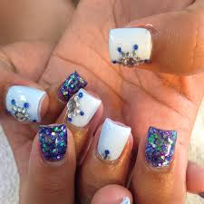 short nail designs with glitter gallery nail art designs