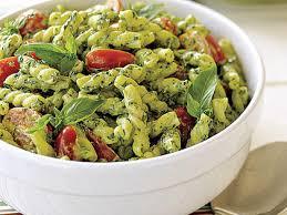 pasta salad pesto pesto pasta salad recipe myrecipes