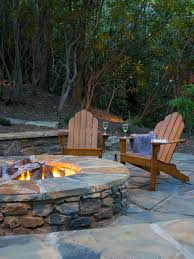 Bbq Side Table Plans Fire Pit Design Ideas - outdoor fire pits and fire pit safety fire pit designs hgtv and