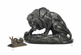 barye lion sculpture antoine louis barye 1795 1875 lion au serpent lion