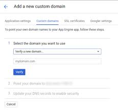 Google Public Dns Server Traffic by Mapping Custom Domains App Engine Standard Environment For